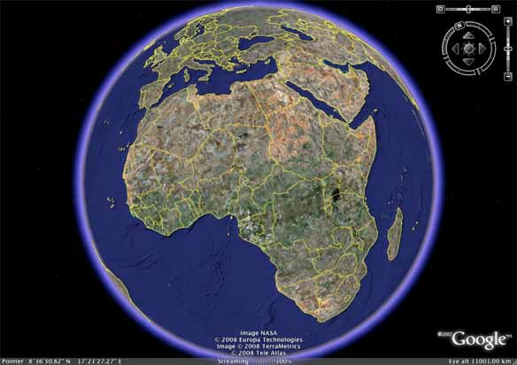 research report google earth